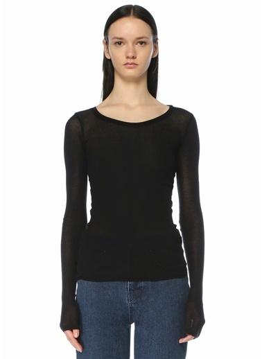 American Vintage Polo Yaka T-shirt Siyah